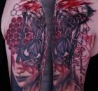 Christina Colour Sabelink Tattoo Brumunddal 100