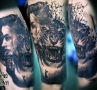 Christina Colour Sabelink Tattoo Brumunddal 115
