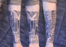Christina-Colour-Carbon-Ink-Tattoo-173