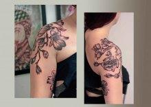Christina-Colour-Carbon-Ink-Tattoo-229