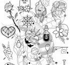 Carbon-INK-Tattoo-Brumunddal-Flash-Design-03
