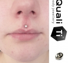 Piercing Christina Colour Piercing Sabelink Tattoo 023