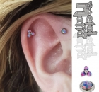 Piercing Christina Colour Piercing Sabelink Tattoo 033