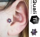 Piercing Christina Colour Piercing Sabelink Tattoo 036