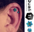 Piercing Christina Colour Piercing Sabelink Tattoo 006
