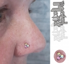 Piercing Christina Colour Piercing Sabelink Tattoo 031